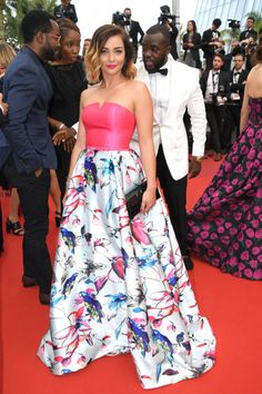 Priscilla Betti attends the 'Loveless ' screening during the 70th annual Cannes Film Festival at Palais des Festivals on May 18 2017 in Cannes France