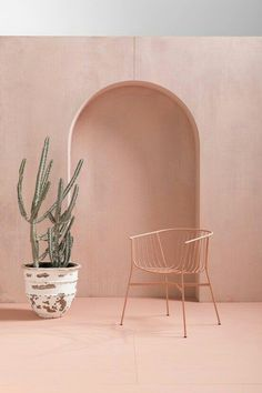 interior design ideas : some pink inspiration for your home! Pink interior design ideas for your homePink interior design ideas for your home Home Interior, Interior And Exterior, Interior Design, Interior Walls, Chair Design, Furniture Design, Pastel Furniture, Teak Furniture, Space Furniture