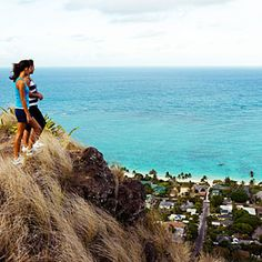 Lanikai Pillbox Trail, Oahu, HI: The short (two-mile round-trip) but steep trail takes you up to World War II–era bunkers and an Imax-worthy view of windward Oahu.
