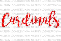 49e7ef437 86 Best cardinal designs images in 2019   Arizona cardinals, Az ...