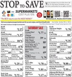 Stop To Save Weekly Ad - http://www.weeklycircularad.com/stop-to-save-weekly-ad-specials/