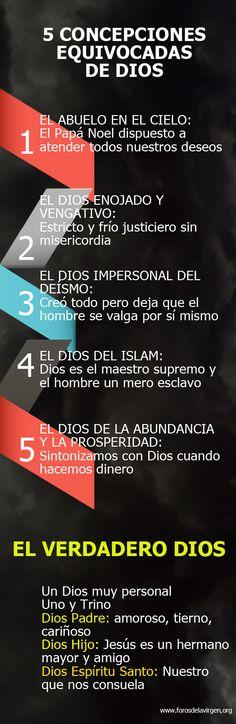 5 concepciones equivocadas de Dios