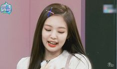 Animated gif discovered by styluspink. Find images and videos about gif, blackpink and jennie on We Heart It - the app to get lost in what you love. Aesthetic Songs, Aesthetic Girl, Kim Jennie, Wavy Hair With Braid, Wattpad, Taehyung, Smile Gif, Slash, Vlog