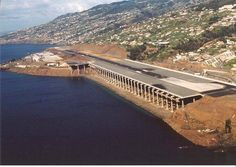 マデイラ空港 大西洋・ポルトガル領マデイラ島