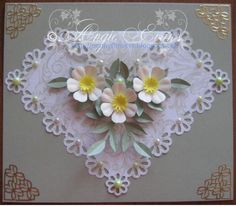 PENNY FLOWERS possible daisy girl card
