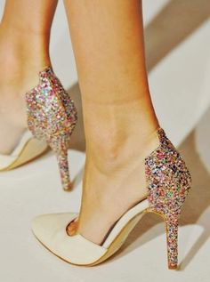 High Heel Party Pumps. #glam #luxe #heels