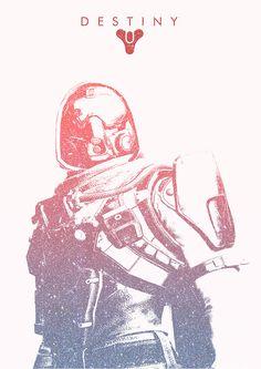 Destiny - Hunter Minimalist Poster by AdamDoyleInc on deviantART