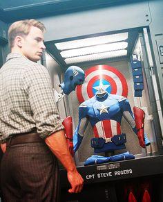 CPT Steve Rogers aka Captain America