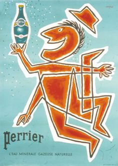 Perrier by Raymond Savignac 1949