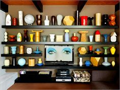 A look inside the home of writer Douglas Coupland
