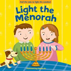 Light the menorah and celebrate eight days of fun with this interactive book!s time to celebrate Hanukkah! Hanukkah For Kids, Hanukkah Lights, Hannukah, Earth Book, Kindergarten Books, Festival Lights, Book Themes, Kids Boxing