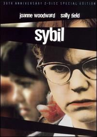 Joanne Woodward and Sally Field in the 1976 version of Sybil.
