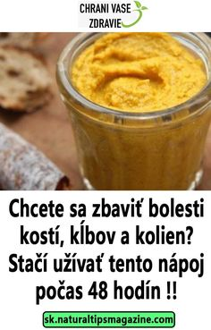 Chcete sa zbaviť bolesti kostí, kĺbov a kolien? Stačí užívať tento nápoj počas 48 hodín !! Easy Workouts, Health Fitness, Mojito, Fruit, Healthy, Medicine, Diet, Easy Fitness, The Fruit