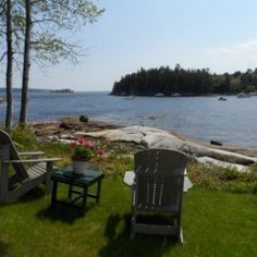 Lone Gull- Located on East Blue Hill Bay in East Blue Hill, approx. 20 feet away from the water. This classically done 2 bedroom, 1 bath cottage is situated on a point with a 180 degree panoramic harbor view. Just a fabulous location on 1.7 completely private acres. Weekly rent $1,500-$1,950 Vacation Cottages 207-374-3500