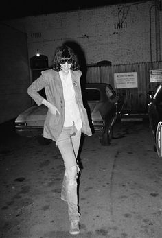 Photo credit: Brad Elterman, Joey Ramone In The Parking Lot.
