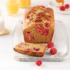 Pain aux framboises et citron - Les recettes de Caty Loaf Cake, Pound Cake, Jamaican Ginger Beer Recipe, No Bake Desserts, Dessert Recipes, Beer Recipes, Dessert Bread, Banana Bread, Raspberry