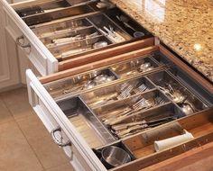 Kitchen Drawer ORganizer Full Metal