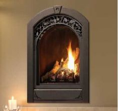 Marquis Serenity DEMO Fireplace - Natural Gas - stylish new European-inspired design is perfect for the bath, kitchen or bedroom. Create the ultimate retreat in your home with the beauty and comfort of a Serenity gas fireplace. Small Gas Fireplace, Direct Vent Gas Fireplace, Vented Gas Fireplace, Best Electric Fireplace, Propane Fireplace, Wooden Fireplace, Bedroom Fireplace, Home Fireplace, Fireplace Inserts