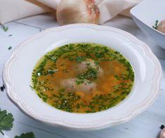 Zöldségleves házi májgaluskával receptje | Mindmegette.hu Palak Paneer, Ethnic Recipes, Food, Essen, Meals, Yemek, Eten