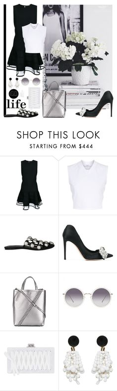 """""""Lifestyle"""" by sue-mes ❤ liked on Polyvore featuring Alexander McQueen, Givenchy, Alexander Wang, Proenza Schouler, Linda Farrow, Edie Parker and Marni"""