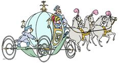 Cinderella Carriage Clip Art | Please read the Terms of Use