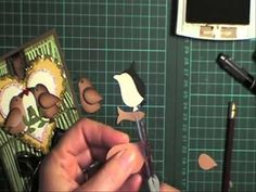 Side facing Bird using your Owl punch by lorraine