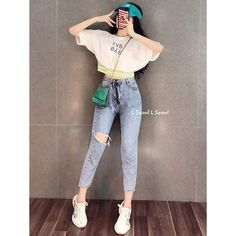 Dope Outfits, Stylish Outfits, Korean Clothes, Summer Dresses For Women, Asian Fashion, Korean Girl, Ootd, Street Style, Lady