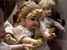How to Clean Porcelain Dolls - hair, clothes and porcelain...good info!
