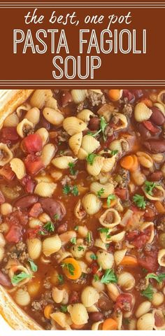 Pasta fagioli soup olive garden copycat fagioli soup soup one pot soup recipes together as family souprecipes recipeoftheday pastafagiolisoup pastafagiolisouprecipes pasta e fagioli soup Fall Soup Recipes, Healthy Soup Recipes, Pasta Recipes, Recipe Pasta, Chicken Recipes, Dinner Recipes, Recipe Stew, Chicken Soups, Chicken Salads