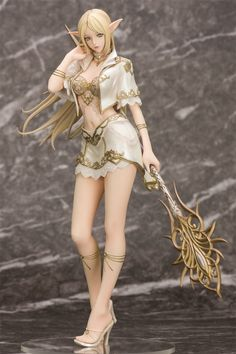 Amazon.com: Lineage II Elf 1/7 PVC Figure Orchid Seed (first Version): Toys & Games