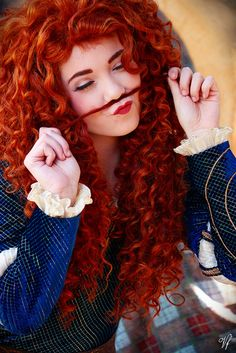 Haha :) Princess Merida