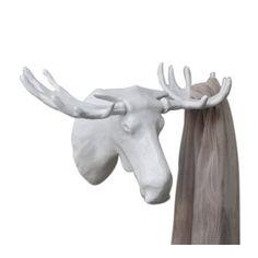Bosign - Moose Hook - Knagg, hvit