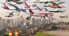 osCurve Brasil : Relatório aponta os 'céus' mais congestionados de ...