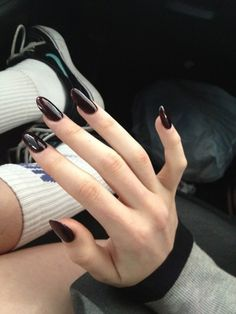 Cute Burgundy Nails For Girls In 2017 - styles4woman