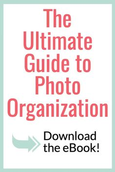 This is a fabulous ebook on digital photo organization! It teaches you how to use Lightroom to upload and organize your photos simultaneously and how to print photos in minutes … Blurb Photo Book, Photo Books, How To Use Lightroom, Digital Foto, Photo Storage, School Organization, Working Moms, Life Planner, Blog Tips