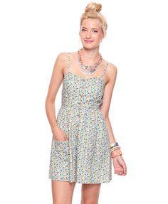 Floral A- Line Dress $13
