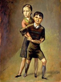 Balthus, Brother and Sister (Frere et Soeur), (CA. 1932)