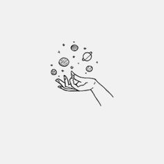 Best Ideas for drawing ideas easy doodles shape Tumblr Drawings Easy, Tumblr Sketches, Space Drawings, Art Drawings Sketches, Aesthetic Drawing, Aesthetic Art, Planet Tattoo, Planet Drawing, Simple Doodles