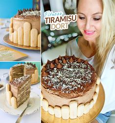 Fitness tiramisu narozeninový dort - zdravý recept Bajola Tiramisu, Ethnic Recipes, Fitness, Food, Essen, Meals, Tiramisu Cake, Yemek, Eten