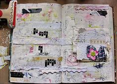 creativesocialworker:  Altered Book Art Journal: With an altered book journal, the creator uses an already-published book as the base for their journal, rather than the typical blank one.  Clients can sometimes be overwhelmed by a blank page and not know where to start.  An altered book takes some of the pressure off the client and can also provide some inspiration.  In therapy, this activity is often a metaphor for the client's ability to take control of their life by literally getting to…