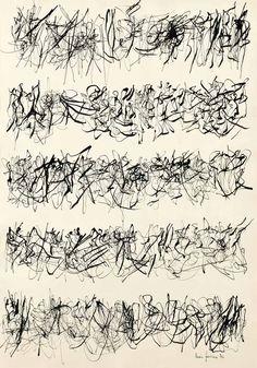 Leon Ferrari - Escritura - 1976 - inchiostro su carta