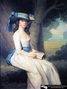 Sophia Drake,  Ralph Earl - 1784    Private collection - wearing a chemise de la reine and a fabulous hat