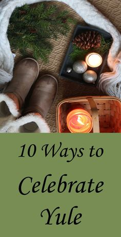 How to celebrate Yule. Create some ice art. With overnight temperatures below freezing in most of the US, it's the perfect time to make … Yule Traditions, Winter Solstice Traditions, Winter Holidays, Christmas Holidays, Wicca Holidays, Pagan Yule, Pagan Witch, Wiccan Sabbats, Holly King