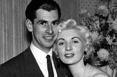Night club hostess Ruth Ellis became the last woman to be hanged in Britain for the murder of her lover David Blakely, on this day 13th July 1955 (pictured)