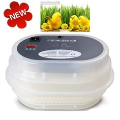 Cheapest  Automatic Digital 12 Egg Incubator Brooder Poultry Incubator Machine Turns chicken goose duck quail egg