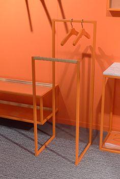 Swedish Brand Scherlin, Celebrated Their 20th Anniversary In Bright Orange,  Stockhom Fair 2014.