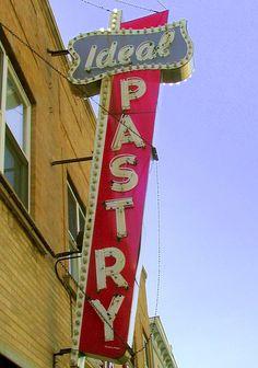 Ideal Psstry ✮ Vintage Sign