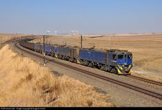 Transnet Freight Rail Class at Ermelo, Mpumalanga province, South Africa by Eugene Armer South African Railways, General Motors, Camden, Nature Photos, Locomotive, Landscape Photography, Empty, Engine, Around The Worlds