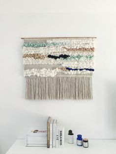 #weavebig #weaving #wallhanging, #tissage by Julie Robert
