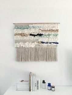 #weavebig #weaving #wallhanging, #tissage by Julie Robert